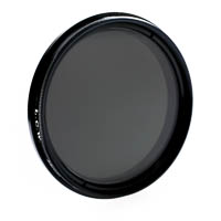 LCW Fader ND MKII Adjustable Neutral Density Filter +1 to +8 f-stops 55mm