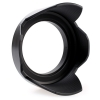 Quenox DCsn Flower Shape Lens Hood 58mm