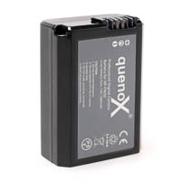 Quenox Storage Battery Pack for Sony NPFW50