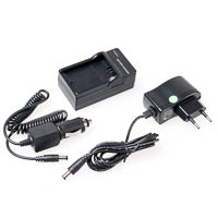 Compact Battery Charger Quenox for Canon LPE6