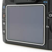 LCD Display Protective Cover Matin for Nikon D3000