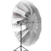 Quenox Parabolic Reflector Umbrella for Studio Light 215 cm