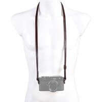 Matin Neck Strap 106cm for EVIL  Compact Camera  brown