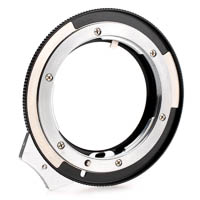 Lens Mount Adapter with Aperture Ring Nikon G - Canon EOS