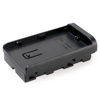 Quenox Battery Adapter for CN-160 Video-LED for Canon LP-E6