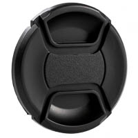 Center Pinch SnapOn Front Lens Cap 52mm