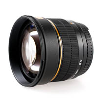 Walimex pro 85mm f14 IF Lens for Canon EOS EF EFS