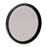 B+W Neutral Density Filter 50% f-stop +1 62mm coated