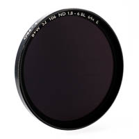 B+W 106 Neutral Density Filter f-stop +6 62mm coated
