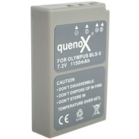 Quenox Battery Pack for Olympus Pen EPL2 EPL3 EPM1 BLS5