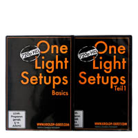 One Light Setup  Basics  Teil 1  TutorialDVD KrolopGerst