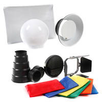 Flashlight lightformer set Mobile Studio Quenox for flashgun