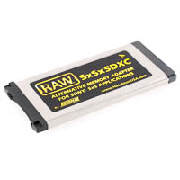 Hoodman RAW SDHC to Sony SxS Memory Adapter