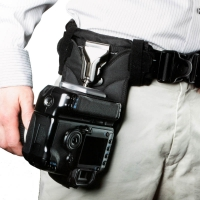SpiderPro Holster for LowePro Street  Field Belt