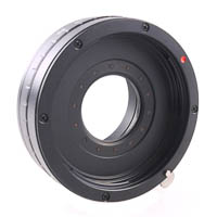 Lens Adapter with Aperture Canon EOS  Micro Four Thirds