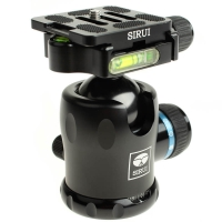 Sirui K20X Ball Head for DSLRs and Mirrorless Cameras up to 25kg  Incl Arcastyle Camera Plate