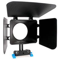 Matte Box Quenox for 15mm DSLR Rig System
