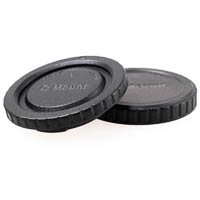 JJC Rear Lens Cap and Body Cap Set for Pentax Q