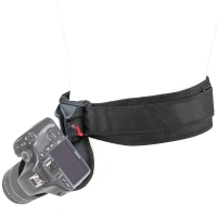 Spider Black Widow Camera Holster Kit with Belt, Belt Pad & Pin