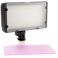 Dimmable bicolor LED-Video Light Quenox for Video-DSLRs 2200 Lux