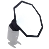Mobile Softbox 20 cm Octagonal Quenox for Shoe Mount Flash