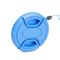 Matin Lens Cap 43 mm SnapOn  Cord Blue