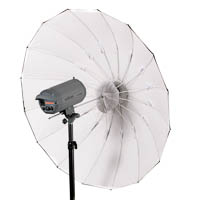 Quenox Parabolic Reflector white Umbrella for Studio Light 152 cm
