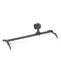 Quenox Camera Track Slider Dolly for Video Shots  100cm