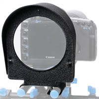 Magnifty LCD Magnifier for 15mm Video DSLR Rig