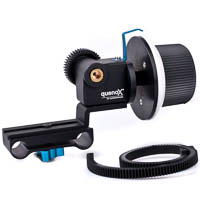 Quenox FF1 Vers 2 Follow Focus for 15mm DSLR Video Rig