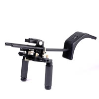 Quenox DR2 Rail Rod System Hand Grip for Follow Focus