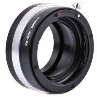 Quenox Lens Mount Adapter Nikon F  Fujifilm XPro with aperture ring