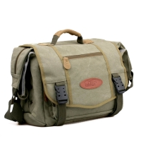 Kalahari Camera Bag Orapa K-22 Canvas Laptop Bag Khaki