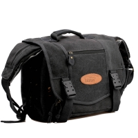 Kalahari Camera Bag Orapa K-22 Canvas Laptop Bag Black