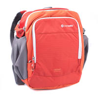 Pacsafe Camera Bag Camsafe Venture V8 Sunset Red AntiTheft