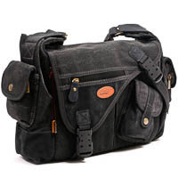 Kalahari Camera Bag Kapako K-31 Canvas Black