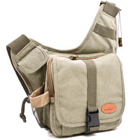 Kalahari Camera Bag KIKAO K-51 Canvas Khaki