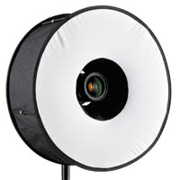 RoundFlash Magnetic Black Ring Flash Diffuser Mobile Softbox 45 cm