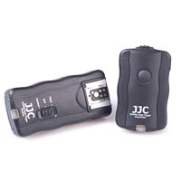 JJC 30m Wireless Remote Trigger for Camera & Flash - incl. 1 Receiver