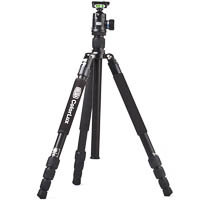 Colorlux BILORA ColorLux Aluminium Tripod Black with Ball Head & Monopod