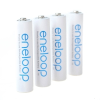 Sanyo eneloop 4x Storage Batteries AAA Micro Cells Precharged