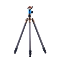 3 Legged Thing Tripod System X5 Frank Evolution 2 Carbon with AirHed 2 Blue incl Monopod