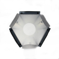 Quenox Hexagonal Softbox 315cm for External Flashgun