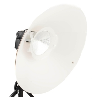 Quenox Beauty Dish 47cm for External Flashgun  with Diffusor