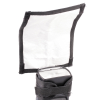 Quenox Bounce Reflector 18cm for Flashgun