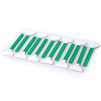 12x Sensor Cleaning Swabs f�r Digitalr�ckwand 42mm VisibleDust Vswabs gr�n