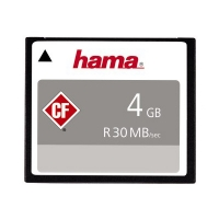 Hama CompactFlash Memory Card 4GB 30MBs HighSpeed Silver 200x