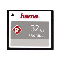 Hama CompactFlash Memory Card 32GB 30MBs HighSpeed Silver 200x