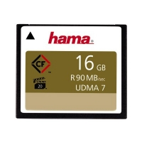 Hama CompactFlash CFSpeicherkarte 90 MBs UDMA6 HighSpeed Gold 16 GB