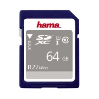 Hama SDHC Memory Card 64GB High Speed Pro Gold Class 10